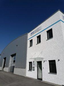 Neues Firmengebäude - Produktion und Entwicklung