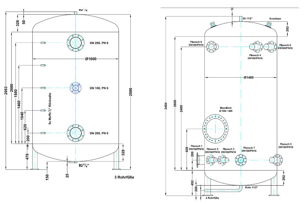 abmessungen-pufferspeicher-ausführungen-vorlagen-konstruktion