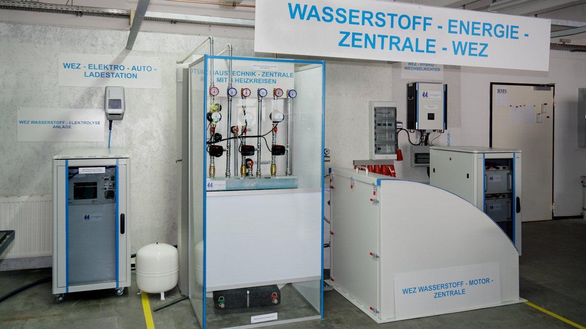 Unsere Wasserstoff-Energie Zentrale - Die CO2 freie Energieerzeugung der Zukunft
